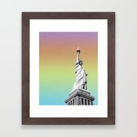 Freedom Framed Art Print