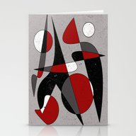Abstract #106 Stationery Cards
