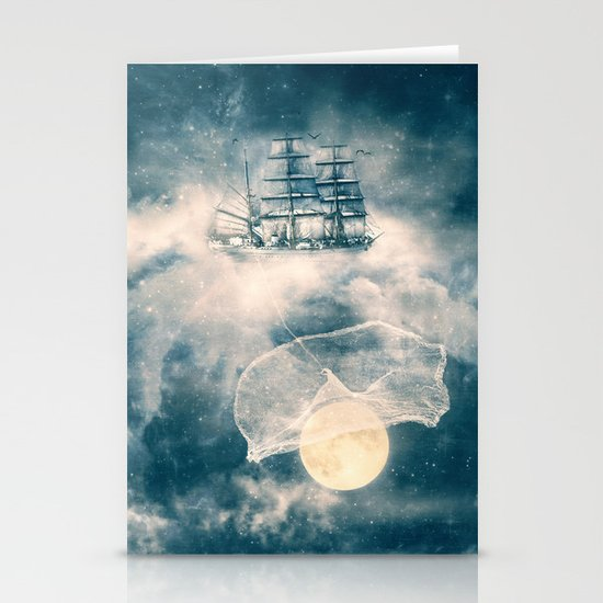 I'll bring you the MOON Stationery Card