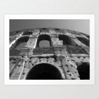 Roman Architecture At It… Art Print