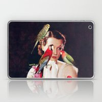 Bird Lady Laptop & iPad Skin