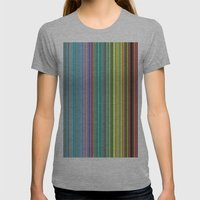 STRIPES23 Womens Fitted Tee Athletic Grey SMALL