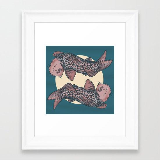 Koi! Framed Art Print