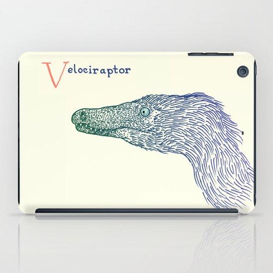 Velociraptor iPad Case
