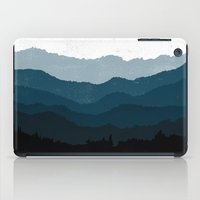 Mists No. 6 - Ombre Blue… iPad Case