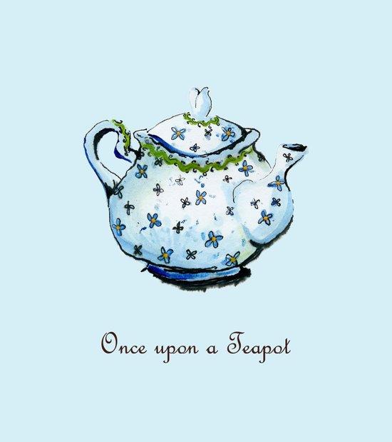 Once Upon A Teapot Art Print