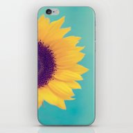 iPhone & iPod Skin featuring Sunflower by Debbie Wibowo