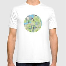 Reef #3.5 Mens Fitted Tee White SMALL