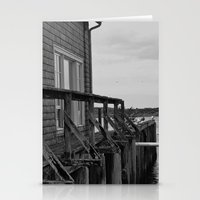 Mossy Pier Stationery Cards