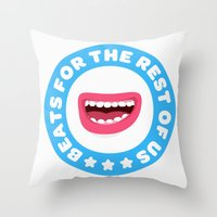 Beatbox For The Rest Of … Throw Pillow