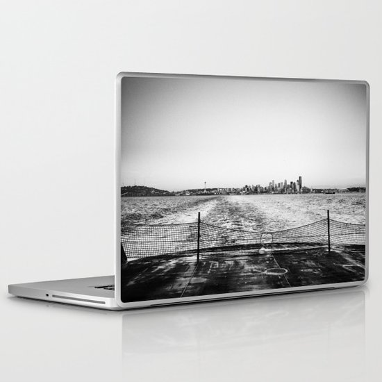 Leaving Seattle Laptop & iPad Skin
