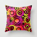 Disco Reverie Throw Pillow
