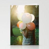 balloon head Stationery Cards