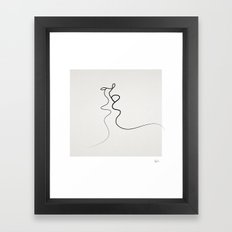 Kiss 2015 Framed Art Print