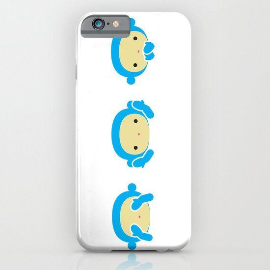 3 Wise Monkeys iPhone & iPod Case