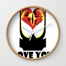 Eye Love You Wall Clock