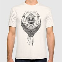 Lady Death Mens Fitted Tee Natural SMALL