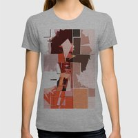 K'naan Womens Fitted Tee Athletic Grey SMALL
