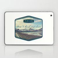 Roadtrip in norway Laptop & iPad Skin
