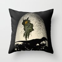 A nightmare is born. Throw Pillow