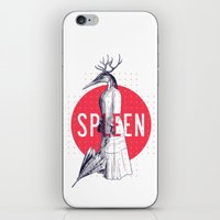 Spleen iPhone & iPod Skin