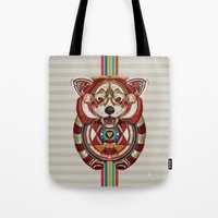 Red Panda by Giulio Rossi Tote Bag