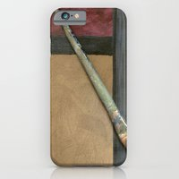 iPhone & iPod Case featuring Artist Brush by Corbin Henry