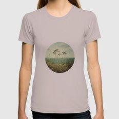 Wind Womens Fitted Tee Cinder SMALL