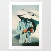 Crisp, Cool Sophisticati… Art Print