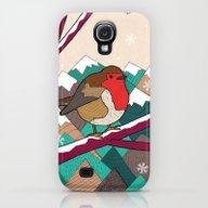 Winter Robin  Galaxy S4 Slim Case