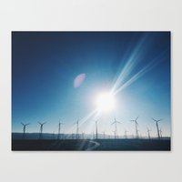 Rd to Joshua Canvas Print