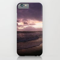 purple beach sunset, puerto vallarta iPhone 6 Slim Case