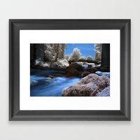 Ir River Framed Art Print