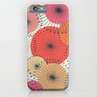 Spiral Flowers iPhone 6 Slim Case