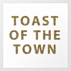 Kate Spade - Toast of the Town Art Print