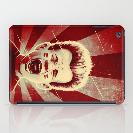 Red Noise iPad Case