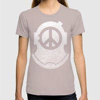 Peacediver II Womens Fitted Tee Cinder SMALL