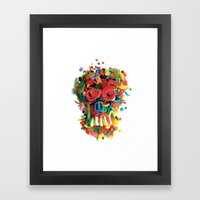 Death and Tooth Decay Framed Art Print