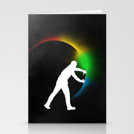 Color Theory Stationery Card