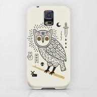 Hypno Owl Galaxy S5 Slim Case