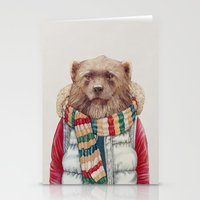 WinterWolverine Stationery Cards