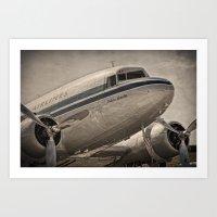 Douglas DC-3 Dakota Art Print