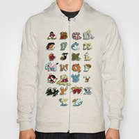 The Disney Alphabet Hoody