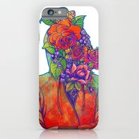 iPhone & iPod Case featuring FLOWERS HEAD by GENO75