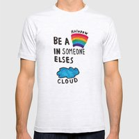 Be a Rainbow Mens Fitted Tee Ash Grey SMALL