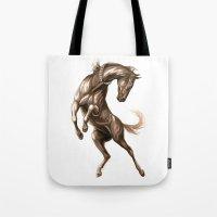 Ink Horse Tote Bag