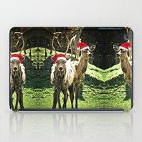 Tis The Season - Reindeer iPad Case