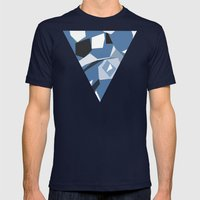 Brighton New Mens Fitted Tee Navy SMALL