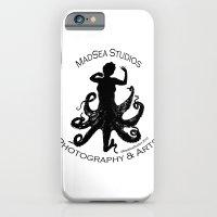 MadSea Nymph, black on white iPhone 6 Slim Case