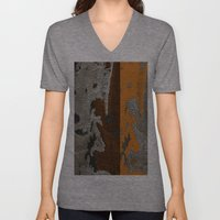 Abstract Textured Art Wo… Unisex V-Neck